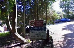 Happy Valley Caravan Park, Bridgend,Glamorgan,Wales