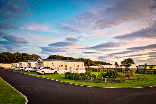 Golden Sands Holiday Park, Cresswell,Northumberland,England